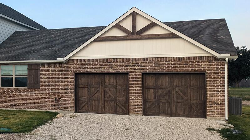 Two or Three Car Garages Home Design & Floor Plan (Hedgefield Homes)