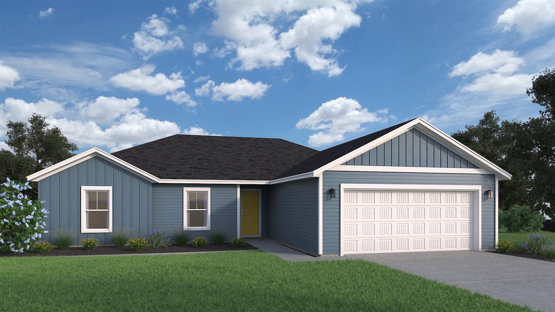 Archer Classic Floor Plan (Hedgefield Custom Homes North Texas)