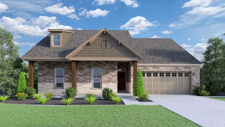 Bankhead Legacy Floor Plan (Hedgefield Custom Homes North Texas)