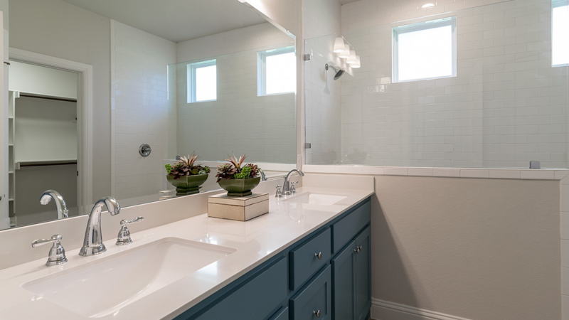 Bathroom Counter: Options & Features for Custom Home