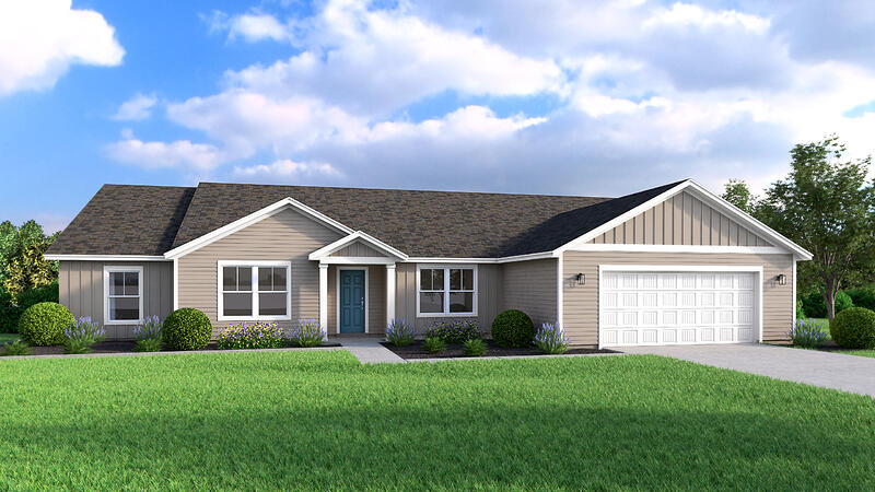 Home Building Bosque A Floor Plan (Hedgefield Homes North Texas)
