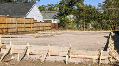 Empty Lot Visit (Home Building Process by Hedgefield Homes)