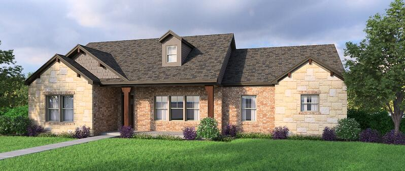 Chambers Legacy Style Floor Plan with Hedgefield Homes