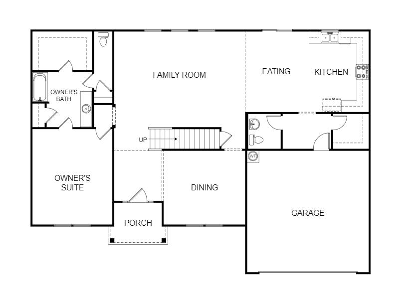 Meridian Floorplan BW 1