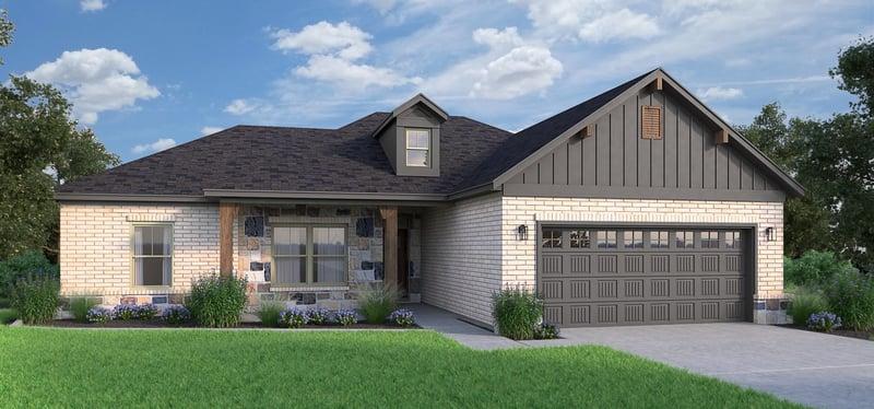 Floor Plan By Semi-Custom Home Builder (3 Types of Home Builders)