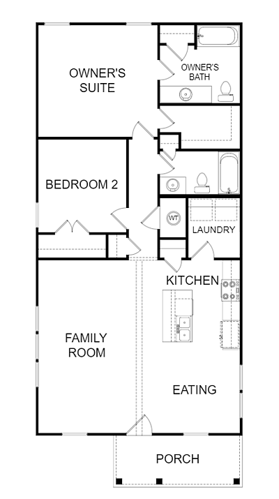 The Whitney Floor Plan: Options & Features for Custom Home