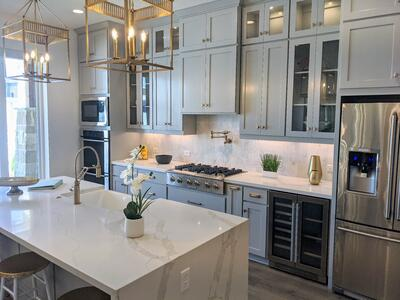 Kitchen Home Design Meeting (Home Building Process by Hedgefield Homes)