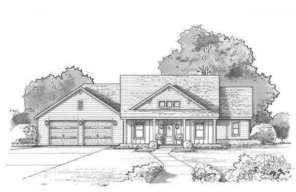 Hedgefield Homes Floor Plan
