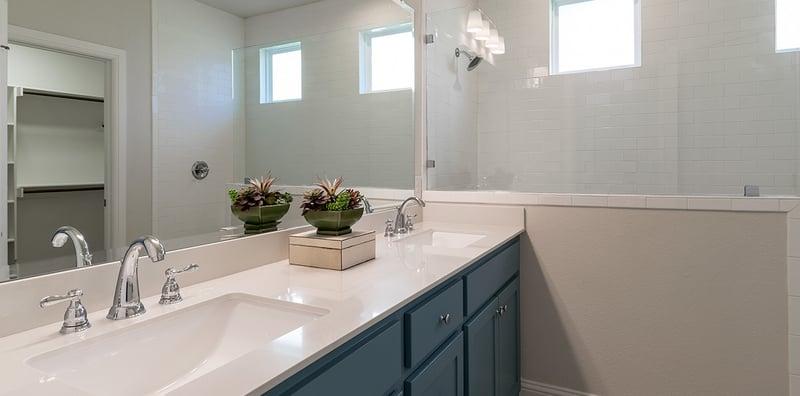 Double Vanity Home Design & Floor Plan (Hedgefield Homes North Texas)