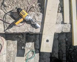 drill on ground