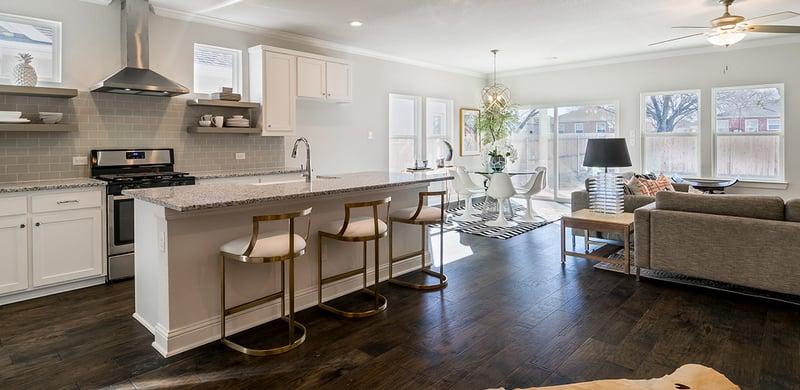 Open Floor Plan & Design (Hedgefield Homes North Texas)
