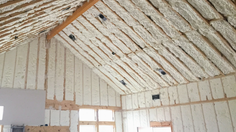 Unfinished Room and Insulation: Options & Features for Custom Home