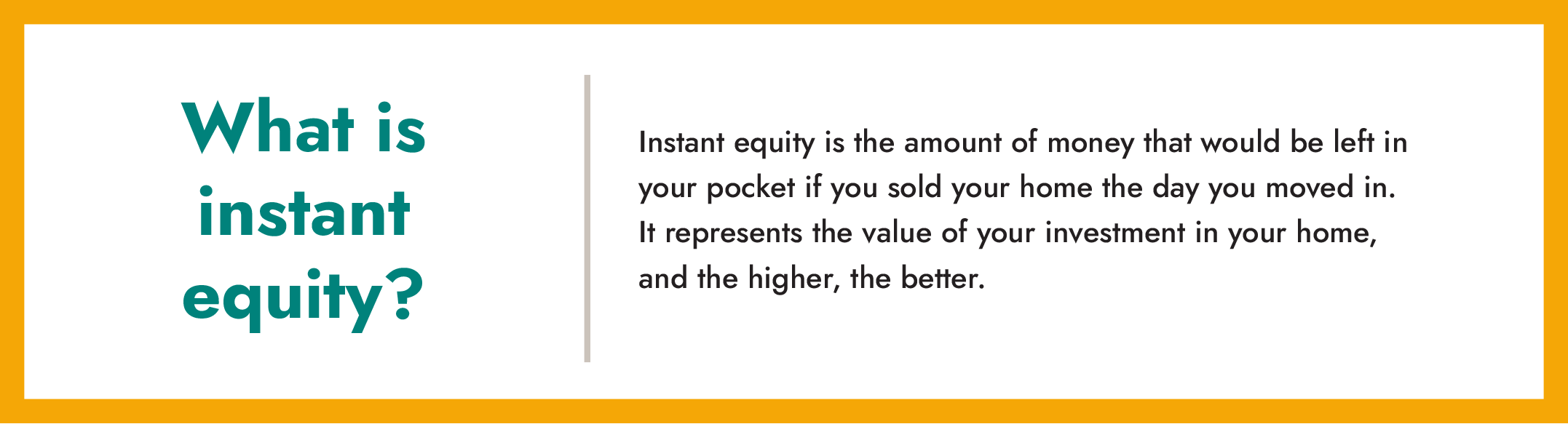 what is instant equity info box