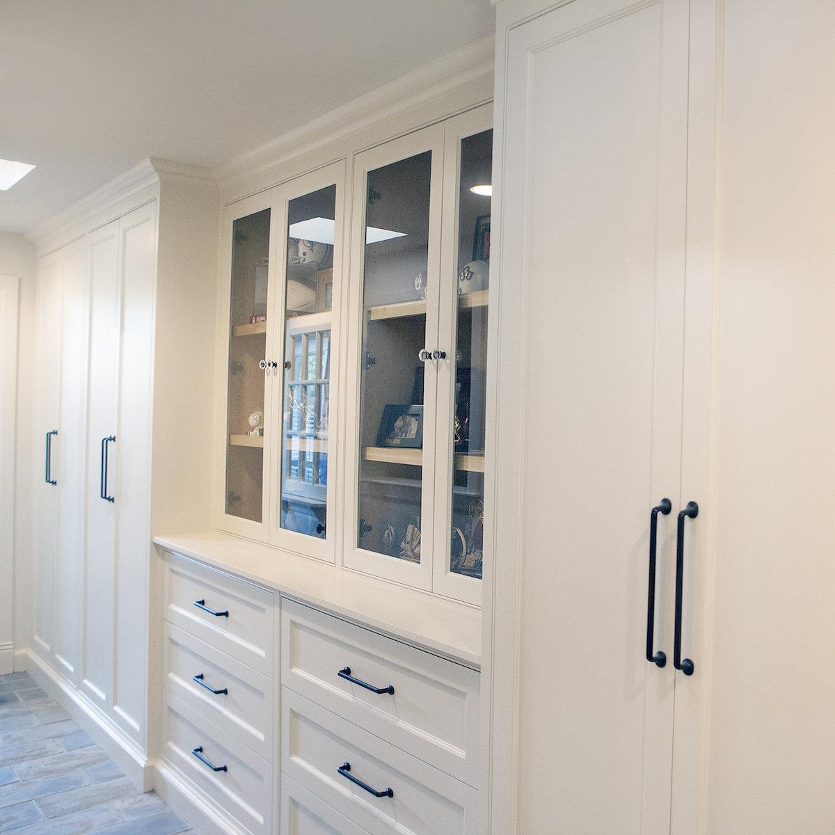 Bathroom Design (Custom Texas Homes): Custom Bath with Claw Foot Tub, Beadboard and Oak Floors