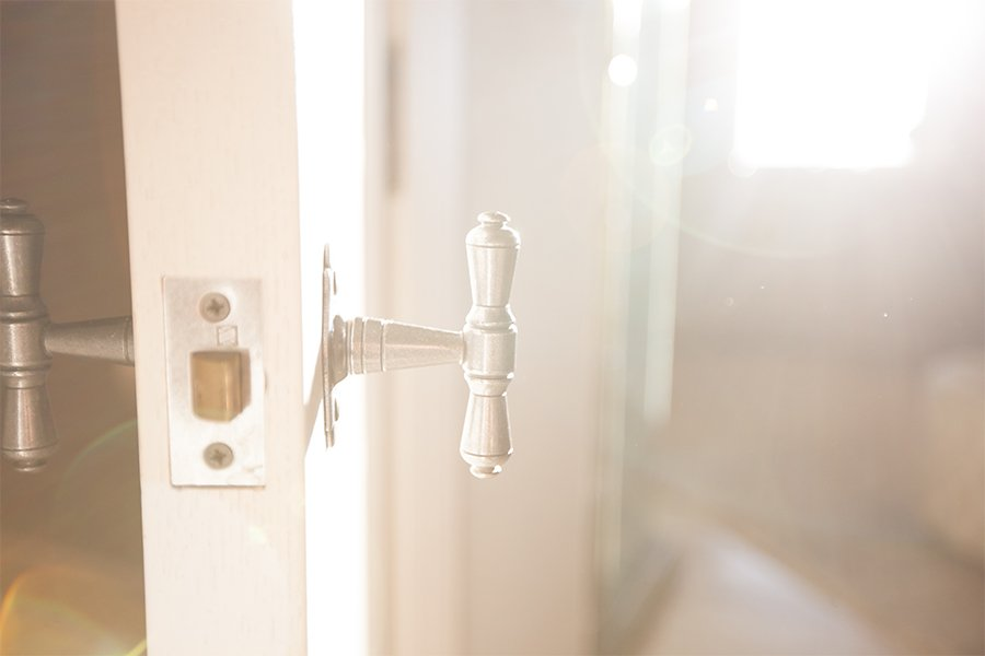 Home Design Accents: baldwin door handle